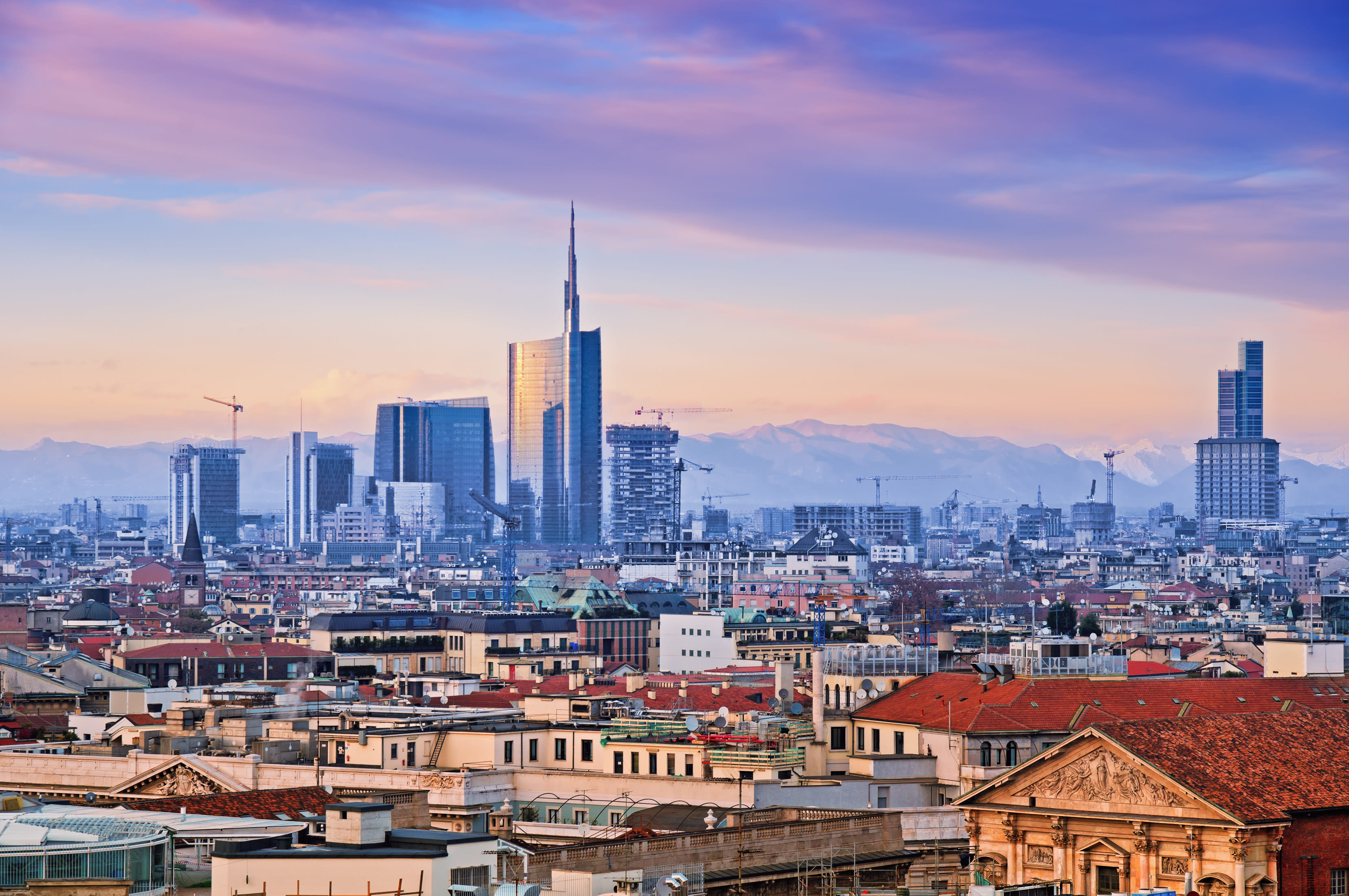 Milano Skyline, Summer in Milan
